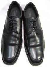Banana Republic Mens Advanced comfort SZ 8.5  Black Leather Shoes Oxfords #110 B