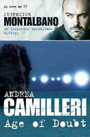 The Age of Doubt (Inspector Montalbano Mysteries), Camilleri, Andrea, Very Good