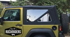 07-18 Jeep Wrangler JK 2 Door Replacement Tinted Windows & Soft Top Special Buy!