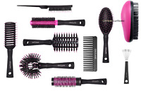 ORIFLAME STYLER HAIR BRUSH detangling round wide tooth cushion teasing comb curl
