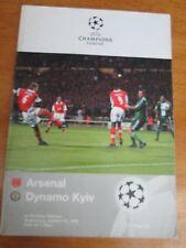 Arsenal V DINAMO KIEV-CHAMPIONS LEAGUE - 1998/99 a Wembley