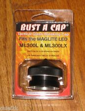 Bust A Cap Maglite D Cell LED Glass Breaker Police Fire EMS ML300L ML300LX NEW