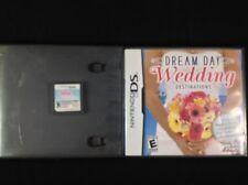 Nintendo DS Game Lot: Dream Day Wedding Destinations & Barbie Fashion Show