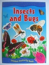 Insects and Bugs Sticker Activity Book