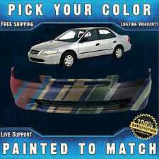 NEW Painted to Match - Front Bumper Cover for 1998 1999 2000 Honda Accord Sedan
