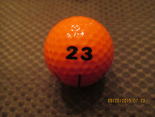 PING GOLF BALL-SOLID ORANGE #23 MICHAEL JORDAN GOLF PING.ERROR BALL..RARE!!!NEW!