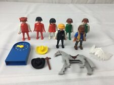 Lot of Playmobil horse and people Figures