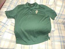 Greensboro Grasshoppers green golf shirt sz M  - DSCN2541
