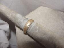 "Frank Reubel ""Art of Design"" Diamond Band 14k yellow gold (size 6.5)"
