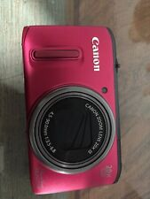 Canon PowerShot SX260 HS 12.1MP Digital Camera - Red Plus 8gb Card
