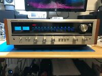 1974 Pioneer SX-535 Vintage Receiver - Recapped Driver Board & New LEDs
