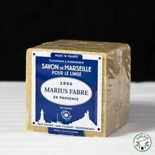 Savon de Marseille Cube 600g Pur Végétal Marius Fabre