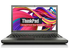 Lenovo ThinkPad t550 Core i7-5600u 2,60ghz, 15,4 pollici 128 SSD 8gb w10 1920x1080