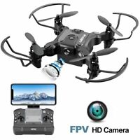 4DRC-V2 Mini RC Drone With 720p HD Camera Selfie WiFi FPV Foldable Quadcopter