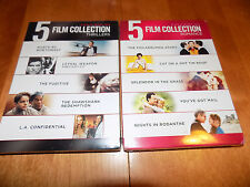BEST OF WARNER BROS 10 Film Collection Thrillers & Romance Movies 2 DVD SETS NEW