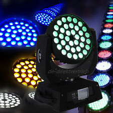 LED Wash Light 36 x 10W Zoom moving head DMX512 lumière éclairage DJ Club Stage
