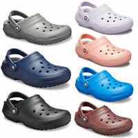 Crocs Unisex Classic Fuzz Lined Clog Winter Warm Comfort Clog NEW