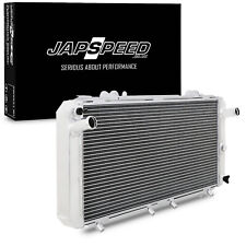 JAPSPEED ALUMINIUM RAD RADIATOR FOR TOYOTA MR2 TURBO SW20 REV1 REV2 REV3 90-95