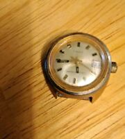 Timex Men's Mechanical  Watch Face Only  Works!   Vintage