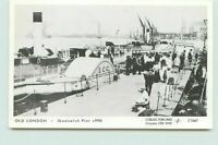 Postcard Old London Greenwich Pier c1906 C1667 Printed Unposted FQ