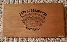 New listing Joya De Nicaragua Presidente Wood Cigar Box - Beautiful 00006000 ! 5 Cigar Count