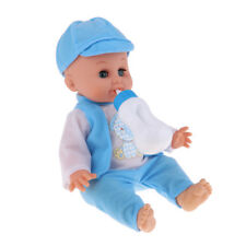 Vinyl Baby Doll 14inch Reborn Kits Boy Toddler Kids Play House Toy Role Play