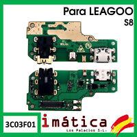 PLACA DE CARGA PARA LEAGOO S8 MICROFONO CONECTOR USB PUERTO JACK AURICULARES