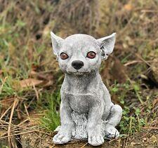 Pierre personnage chat Nappy Noir latent Steinguss au Gel Résistant aux intempéries jardin personnage