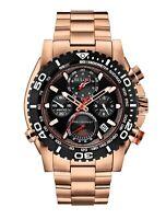 Bulova Precisionist Men's Quartz Date Calendar Black Dial 47.5mm Watch 98B213