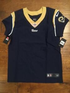 NWT NIKE LA RAMS BLANK NFL JERSEY sz 44 Retail Price - $325