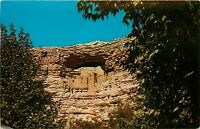 Chrome Postcard AZ H514 Montezuma Castle Cortez Prescott National Monument
