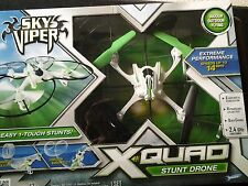 Sky Viper X Quad Stunt Drone Extreme Performanve Speeds up to 14 MPH