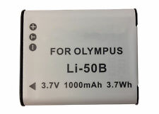 Olympus Stylus Tough TG-870 Digital Camera Replacement Battery