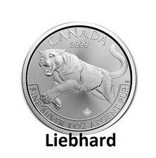 5$ Kanada / Canada Silber / Silver Predator Serie 2016 1 OZ Puma / Cougar