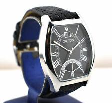 Designer Men's Croton Quartz Watch with Lizard Band
