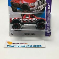 Bad Card * '10 Toyota Tundra #167 * RED * 2013 Hot Wheels * HC13