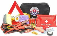 Roadside Assistance Car Emergency Kit First Aid, Jumper Cables, Tow Rope + More!