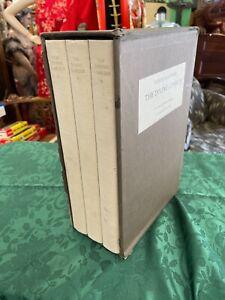 Dante Alighieri The Divine Comedy Illustrated by Leonard Baskin 3 Volumes
