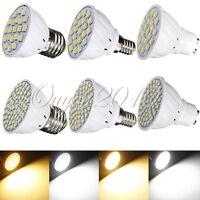E27 GU10 E14 2.5W 21/60 LED 3528/5050 SMD Pure/Warm White Spot Light Bulb Lamp