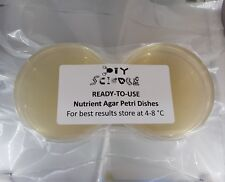 Nutrient Agar Petri Dishes x12 (Sterile, Vacuum sealed & Ready-To-Use)