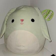 "Squishmallow Isabella the Bunny 16"" NWT plush toy Kellytoy Squishmallows HTF"
