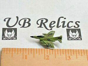 Micro Machines 1987 Funrise McDonnell Douglas F-4 Phantom II Green Jet