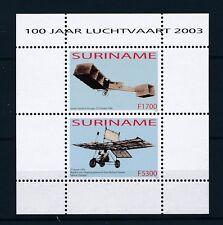 [SU1226] Suriname Surinam 2003 Aviation Planes Souvenir Sheet MNH