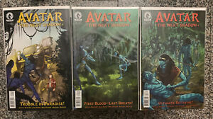 Avatar: The Next Shadow #1-3 NM 3 Issue Set! Never Opened or Read! Dark Horse