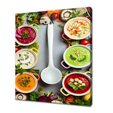 VEGETABLE SOUPS CANVAS PRINT PICTURE WALL ART KITCHEN HOME DECOR FREE DELIVERY