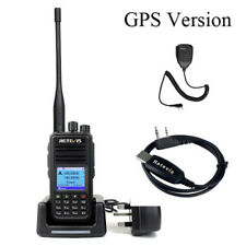 GPS DMR Dual Band Retevis RT3S Walkie Talkie Digital Handheld Two Way Radio VOX