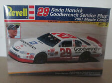 Nib 1:24 Kevin Harvick Goodwrench Service Plus 2001 Monte Carlo Revell Model Kit