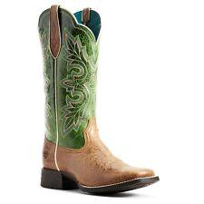 Ariat® Ladies Dark Tan & Treetop Green Breakout Boots 10029648