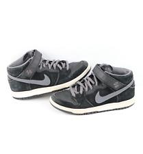 New listing Nike SB Dunk Mid Pro Griptape Leather Skateboard Shoes Sneakers Black Mens 7