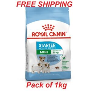 ROYAL CANIN MINI STARTER Pack for Mother&BabyDog Dry Food Small Breed Puppies